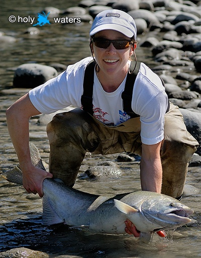 Earth Day in BC Fish stocks are alive and well on the Pitt River
