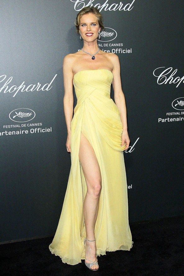 Eva In Bush Yellow Red Carpet Yellow Carpet Pinterest