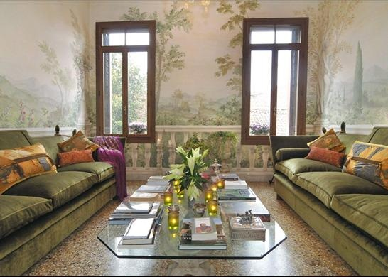 Three bedroom historic apartment, once home to Tiziano Vecellio, Venice, Italy