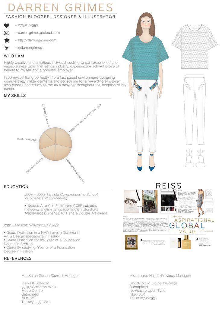 Darrengrimes Com Fashion Blog Creative Cv Creative Pr