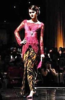 Kebaya, an art of fashion come from traditional heritage of Indonesia