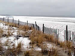 cape may nj beach | Cape May New Jersey in the snow