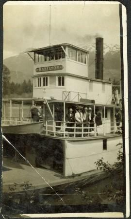 Steamboat on the Skeena River at Hazelton, B.C - Northern BC Archives