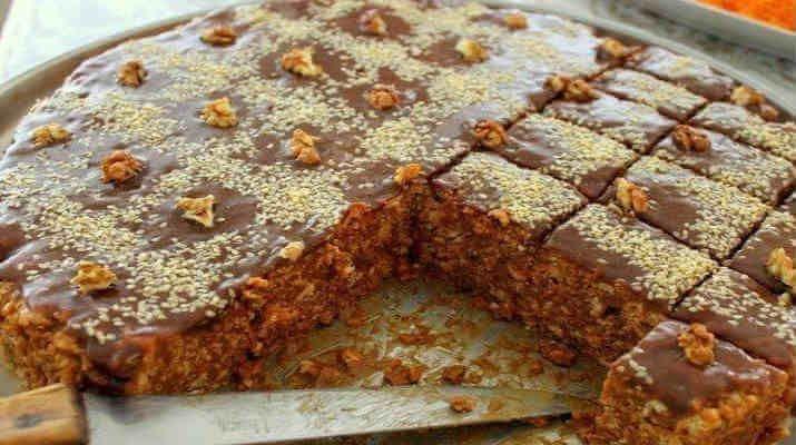 Незатейливый торт со сгущенкой