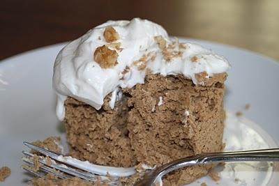 Maple walnut protein cupcake | Yummy | Pinterest