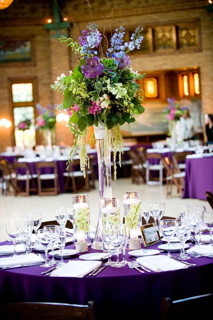Best images about purple wedding with a touch of yellow