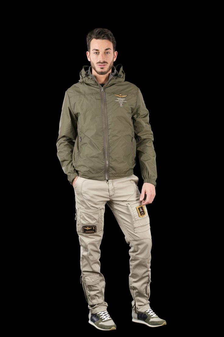 Aeronautica Militare GIUBBINO C/CAPPUCCIO - Outwear - Spring/Summer - MEN
