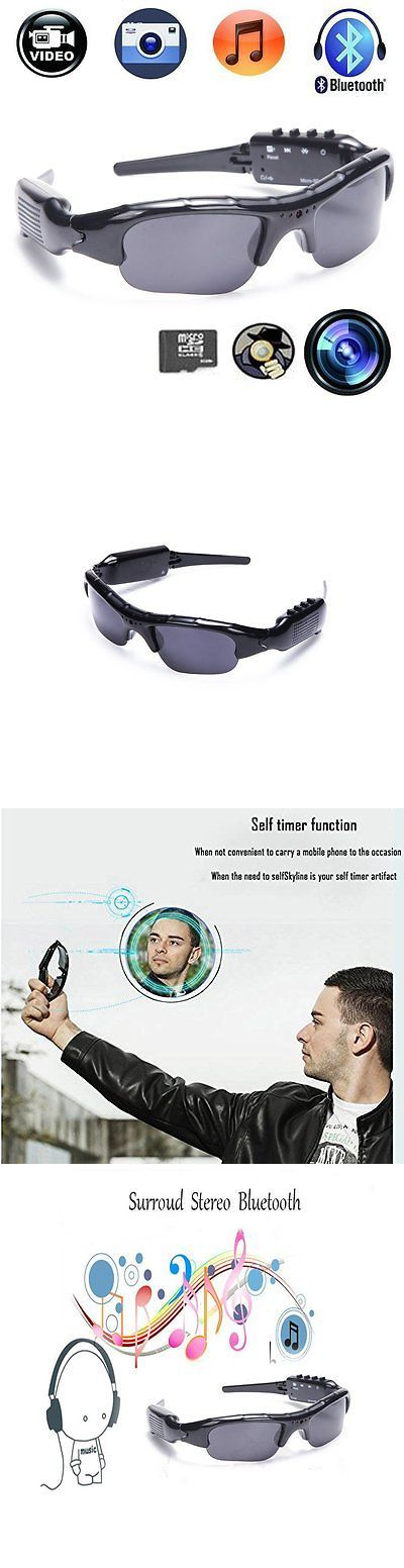 Video Glasses: Recording Sunglasses Camera With Bluetooth Spy Camera Sports Polarized Glasses -> BUY IT NOW ONLY: $50.74 on eBay!