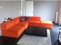 Coole Designer Couch von BoConcept 5teilig + Sessel orange Brandenburg - Hohen Neuendorf Vorschau