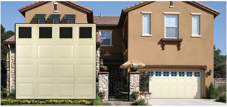 Durafirm Collection® - Vinyl Garage Doors  This Vinyl Garage Door features a vinyl skin, which minimizes maintenance, dents, and rust.