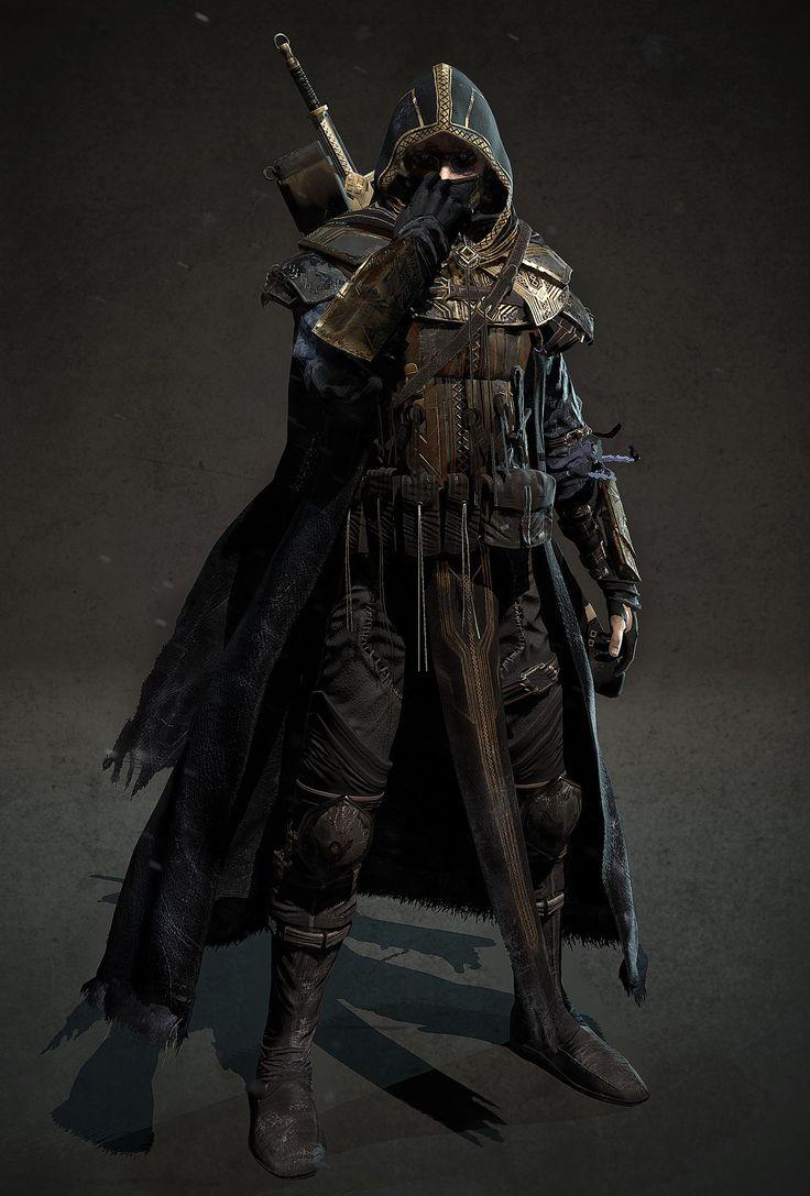 ArtStation - elder scrolls online cinematic Zombie Breton Knight, kim junjong