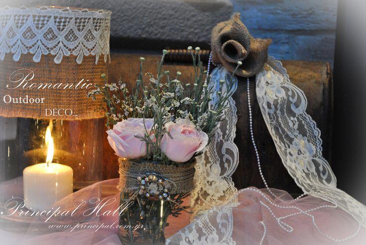 ~Romantic outdoor wedding deco details~ #principalhall #wedding #romantic #table #welcometable #roses #flower #decoration #weddingdecor #outdoor