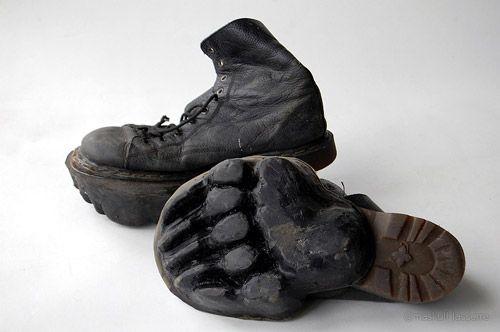 Fußsohlenschuhe von Maskull Lasserre