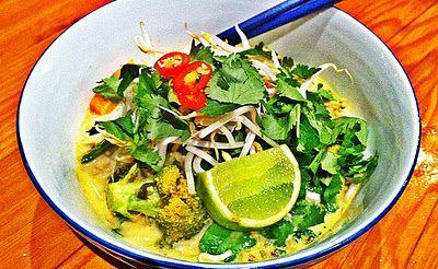 The Bliss Bar: Easy Malaysian Vegetarian Laksa