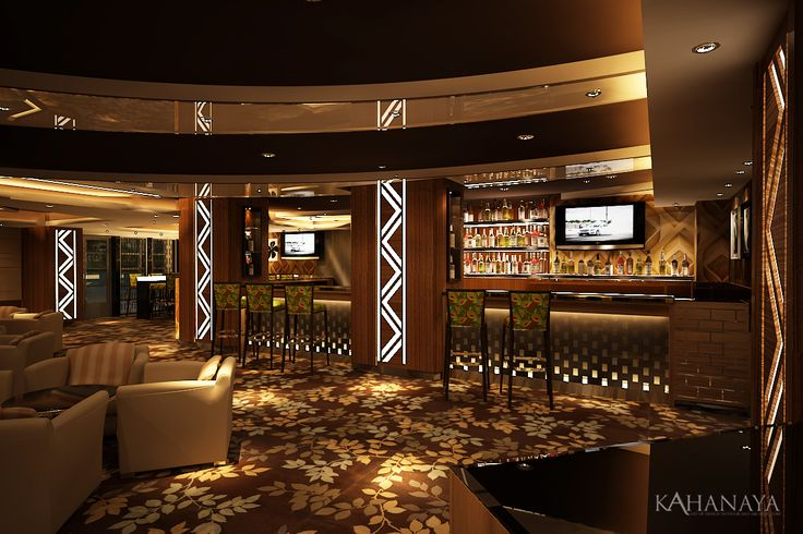 Piramid Bar and Lounge design planning at Somerset Hotel Surabaya Indonesia 2012