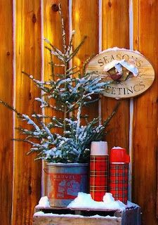 Cabin Christmas Decor - camp and cottage living