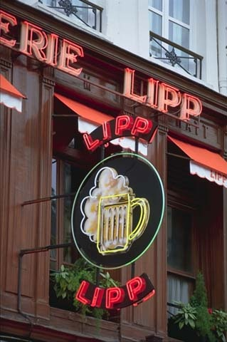 Brasserie Lipp-151, boulevard Saint-Germain | Paris, 6ème