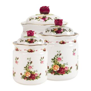 366 best old country roses royal albert for Royal kitchen set
