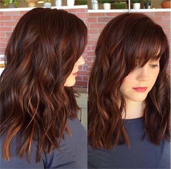 Dark Auburn Brown Hair Color Pictures