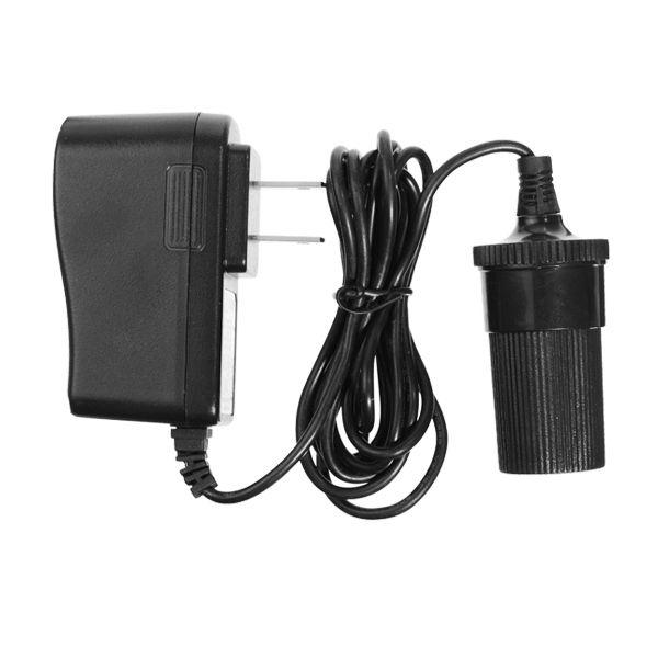 Pantalla mini coche LED enchufe del adaptador de adaptador de corriente de cabeza plana para el tipo americano
