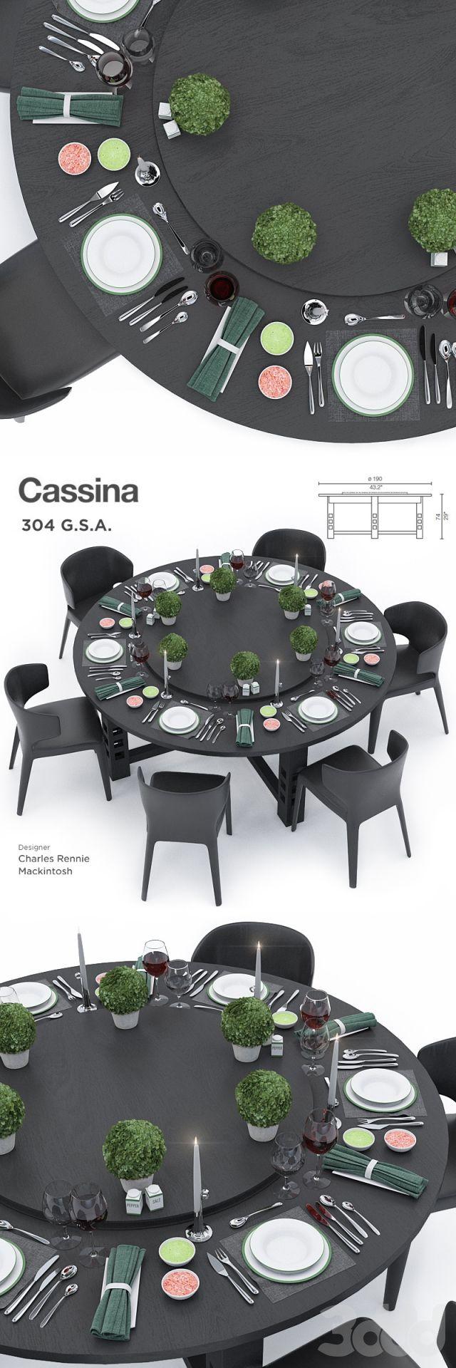 Cassina 304 G.S.A