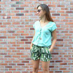golda short donna blouse la maison victor