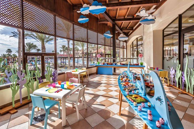 hoteles para viajar con niños Barcelo_Jandia_Mar_Hotel_Ninos_Restaurante