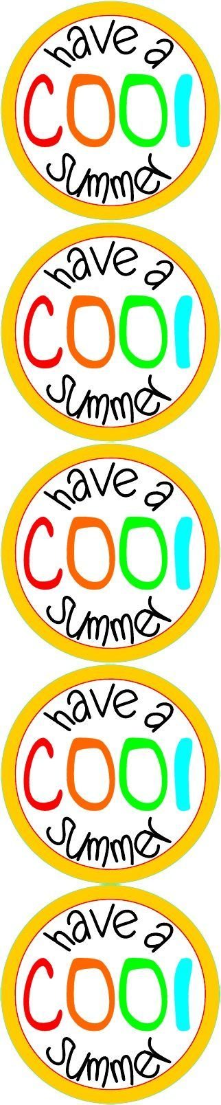 Have a COOL Summer printable. Give with ice pops