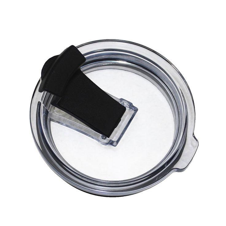 ZNY 100% Spill Leak Proof Lid For Yeti Cups 20oz 10oz, Splash Resistant For RTIC, Ozark Trails, SIC Rambler Tumbler 20 10 Ounces, Lock Closure Straw Friendly,
