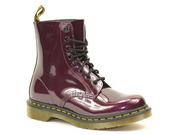 Dr. Martens laarzen in de kleur paars. €144,95 #drmartens