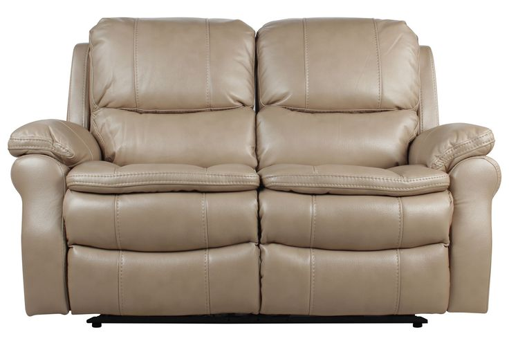 """Salinger Sand Power Dual Reclining Loveseat, $950,livingspaces.com, 62"""" polyester"""