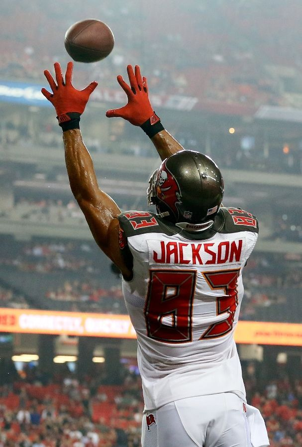 NFL Jersey's Men's Tampa Bay Buccaneers Vincent Jackson Pro Line Red Big & Tall Team Color Jersey