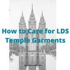 How to Care for LDS Temple Garments - My Random Sampler – I recently discovered that I've been washing my temple garments incorrectly for years. They are special to me, and I want them to look pristinely white for as long as possible. But I didn't know how to wash and dry them properly. I thought I knew. But I didn't. For those of you who are not members... #careof #ldsgarments #templegarments