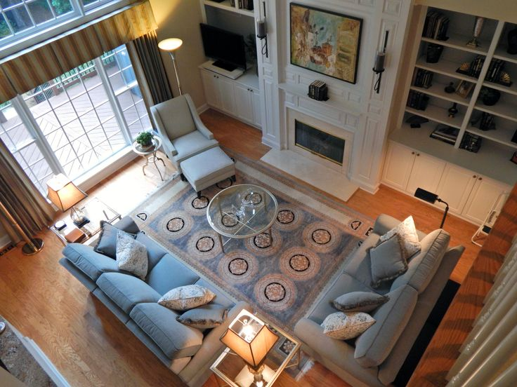 ... And Ottoman Next To The Belle Accent Table, Conor Incliner With The  Heron Round Coffee Table And Heron End Table....#EthanAllenPineville # EthanAllen ...