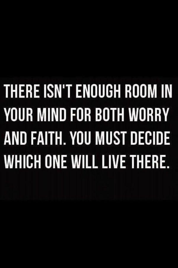 I Choose Faith #quote