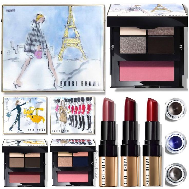 Bobbi Brown City Collection for fall 2016