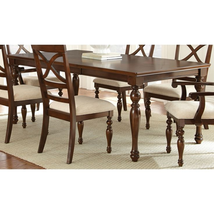 Greyson living calloway 78 inch dining table by greyson for Greyson dining table