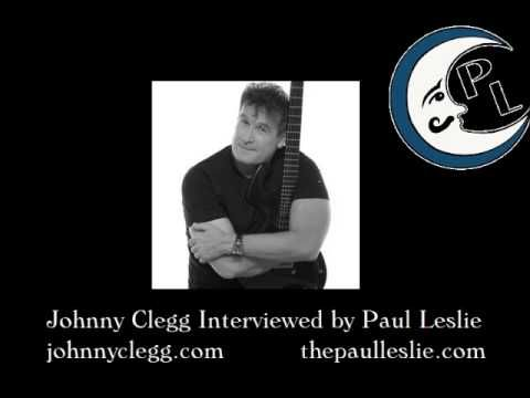 Johnny Clegg Interview on The Paul Leslie Hour