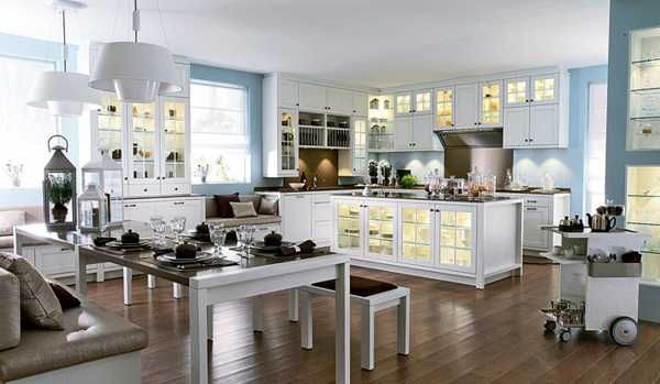 Modern Kitchens Hot Kitchen Design Trends And Decor Ideas Light Blue Kitchens White