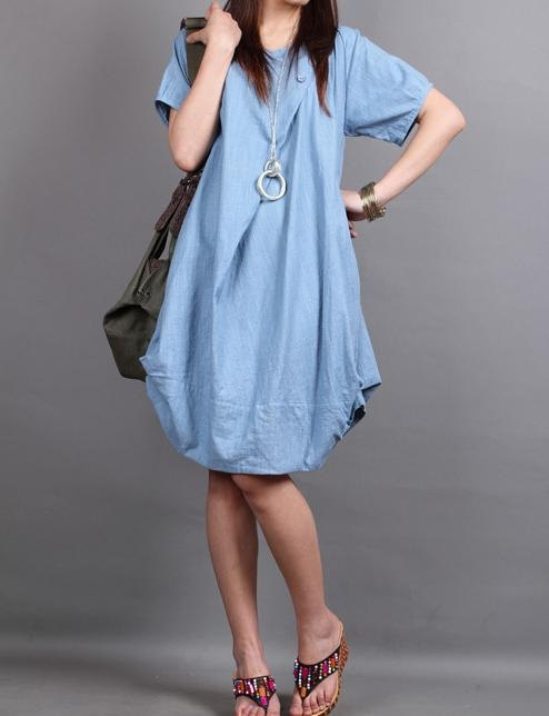 MaLieb | cotton pleated Short sleeve dress shirt