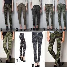 Resultado de imagen de pantalones militares mujer bershka