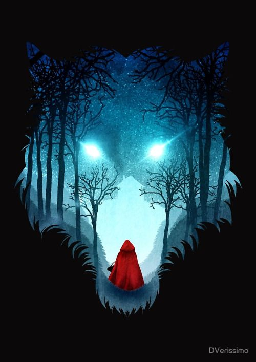 Red Riding Into Wolf Forest