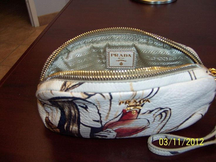 price of prada saffiano tote - Prada Fairy Clutch Wristlet Handbag AUTH LE James Jean Evening Bag ...