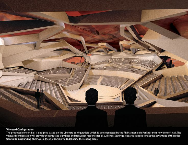 concert hall architecture | Unfolding Sounds – Paris Concert Hall - eVolo | Architecture ...