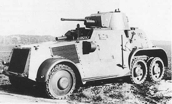 Dutch landsverk armoured car