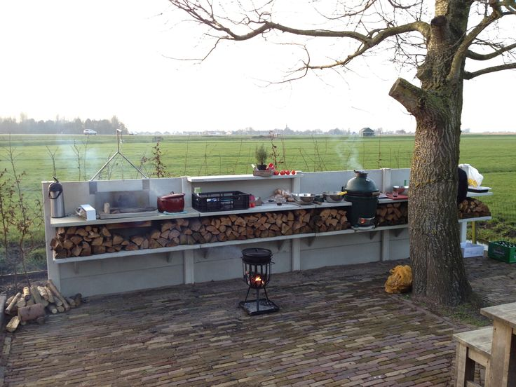 WWOO Outdoor Kitchen by Piet-Jan van den Kommer | www.vandenkommer.nl & www.wwoo.nl