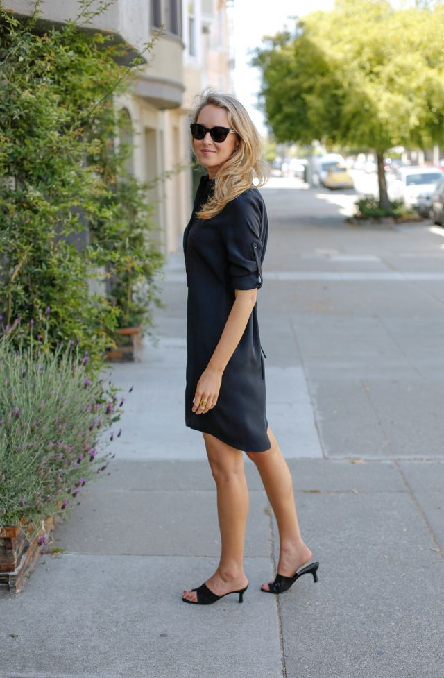 Shirt dress just perfect for the office