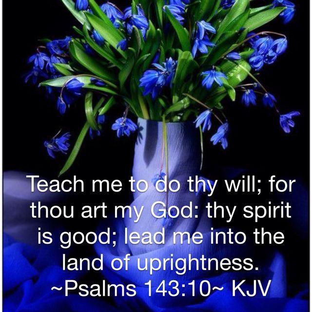 Psalm 143:10