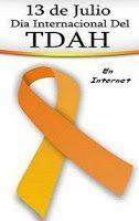 13 julio  DIA INTERNACIONAL del  TDAH