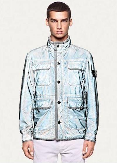 STONE island reflective jacket for spring 2012